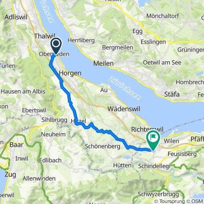 Fachstrasse 33, Oberrieden nach Fürtistrasse 5–15, Wollerau