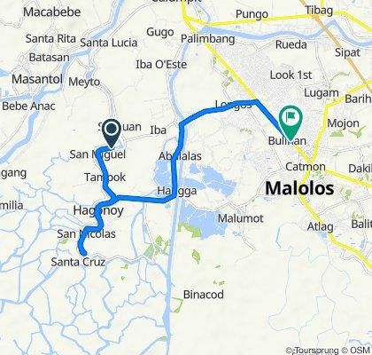 Provincial Road 632, Hagonoy to MacArthur Highway, Malolos