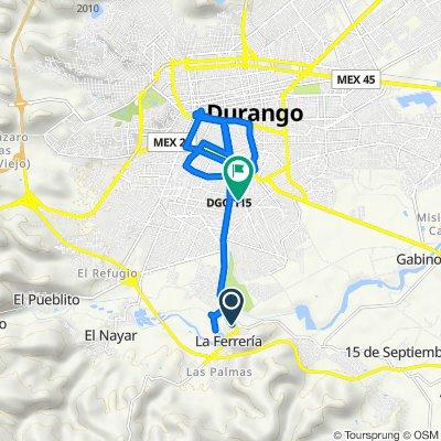 De Carretera Durango - Aserradero la Flor, La Ferrería a Privada Duraznos 109, Durango
