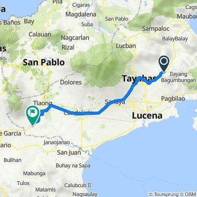 Tayabas to San Antonio