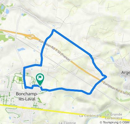 De 9 Impasse Ronsard, Bonchamp-lès-Laval à 9 Impasse Ronsard, Bonchamp-lès-Laval