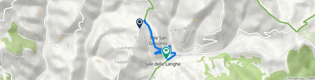 Da Borgata Costa 1, Sale San Giovanni a Via Roma 41/A, Sale delle Langhe
