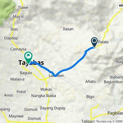 Palale to Munting Bayan, Tayabas City