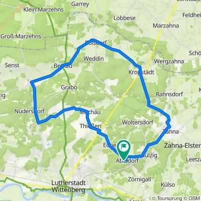 Abtsdorf Radfahren