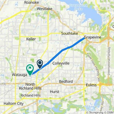 8323–8333 Amundson Dr, North Richland Hills to 7101 Iron Horse Blvd, North Richland Hills
