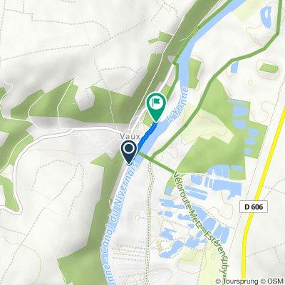 Itinéraire à partir de Quai de l'Yonne, Auxerre