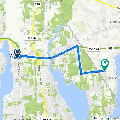 2–98 Jefferson St, Warren to 115–173 Barton Ave, Swansea