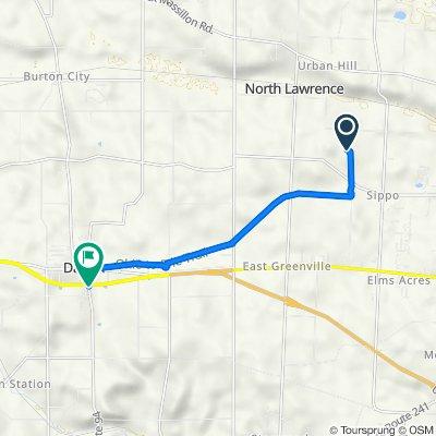 Ben Fulton Avenue Northwest 3001, North Lawrence to South Mill Street 240, Dalton