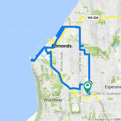 22627 96th Ave W, Edmonds to 22807 96th Pl W, Edmonds