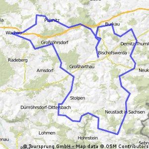 Lausitz und Sächsische Schweiz