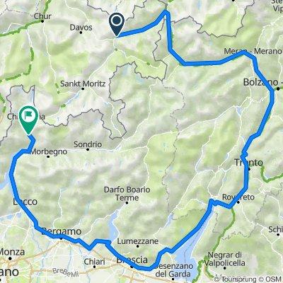 Lavin Gardasee Chiavenna