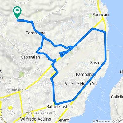 Forestal Road, Davao City to Forestal Road, Davao City