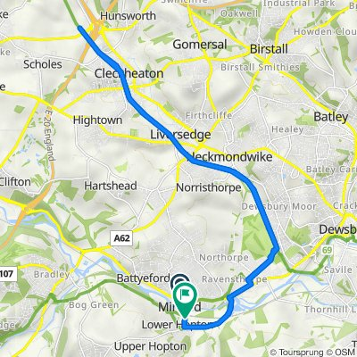 2 Yorkshire Co-Operatives, Huddersfield Road, Mirfield to Hopton New Road, Mirfield