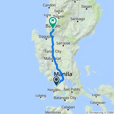 Col. E. Riego de Dios 107, Maragondon to Kennon Road, Baguio