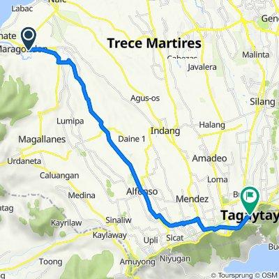 Col. E. Riego de Dios 107, Maragondon to Silang Junction South, Tagaytay