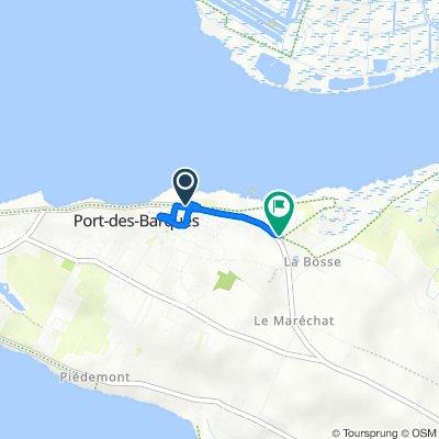 De 45 Avenue de la République, Port-des-Barques à 5 Rue du Phare, Port-des-Barques