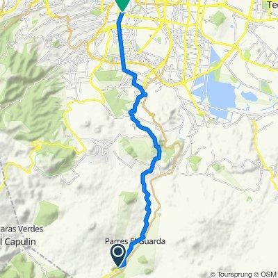 De Ciclopista Ferrocarril de Cuernavaca, Ciudad de México a Altavista, Ciudad de México