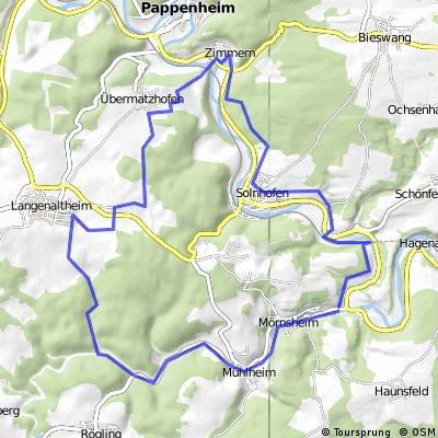 Mörnsheim-Solnhofen-Zimmern-Langenaltheim
