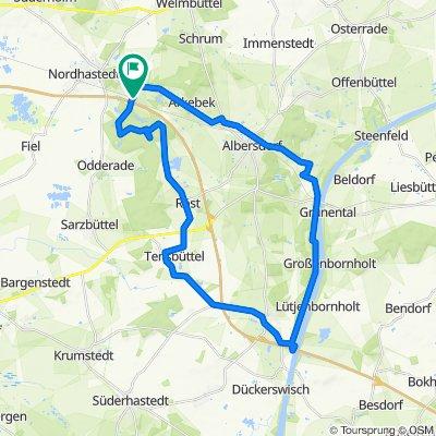 Vierthweg 16, Nordhastedt nach Vierthweg 18, Nordhastedt