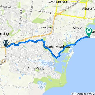 14 Ambassador Crescent, Point Cook to 141-153 Esplanade, Altona