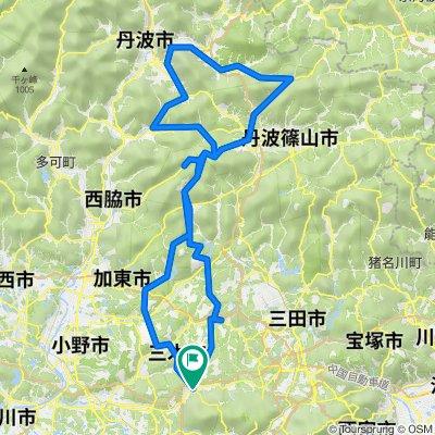 淡河ー丹波篠山