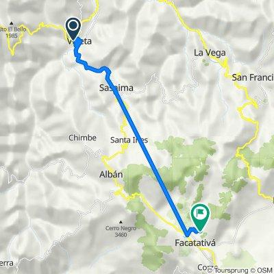 De Carrera 10a 7-03, Villeta a Carrera 15 5-14, Facatativá