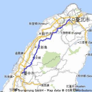 台三線極限挑戰北段路線