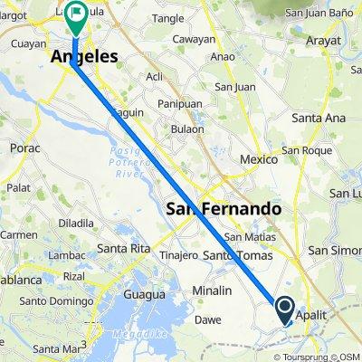 Apalit - Macabebe - Masantol Road to Bancal Street 4023, Angeles