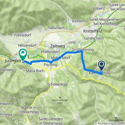 Sonnberg I 15, Großlobming nach Südtiroler Straße, Judenburg
