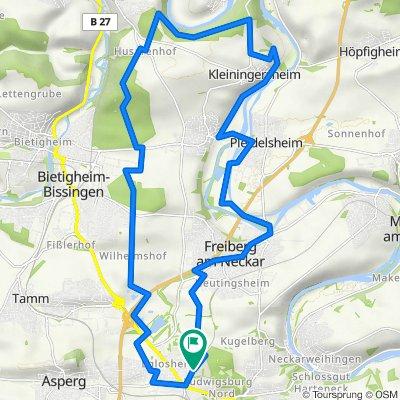 Neckar, Wein und Wald - Rundtour