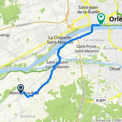 De 2–114 Rue des Écoles, Mareau-aux-Prés à 6Bis–12 Quai de La Madeleine, Orléans