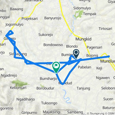 Jalan Taruna Paremono, Mungkid to Jalan Soekarno Hatta 70, Mungkid