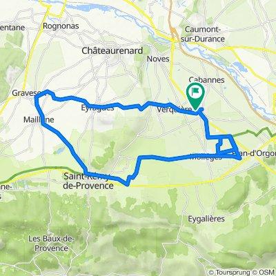 De 7 Lotissement Les Sarcelles, Saint-Andiol à 7–9 Lotissement Les Sarcelles, Saint-Andiol