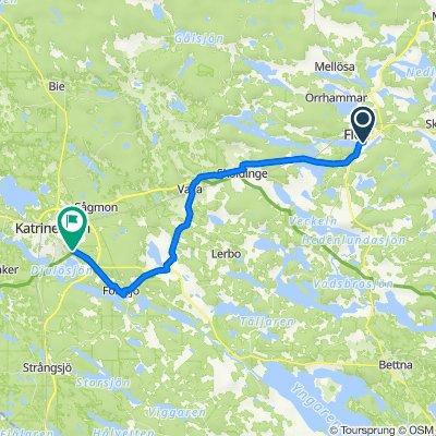 Kungsvägen 10 to Skogskyrkogården
