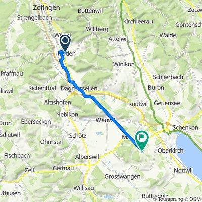 Reidmattstrasse 10, Reiden nach Leidenberg 2, Grosswangen