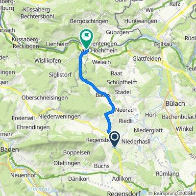 Schwenkelbergstrasse, Dielsdorf nach Schulweg, Kaiserstuhl AG