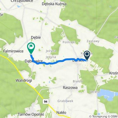 Nowa 14, Daniec do Wiejska 9B, Dąbrowice