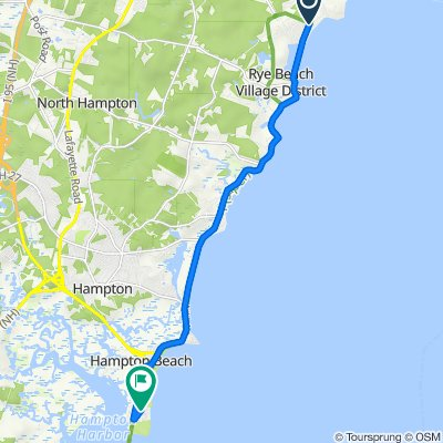 14–24 Cable Rd, Rye to 34 Ocean Blvd, Hampton