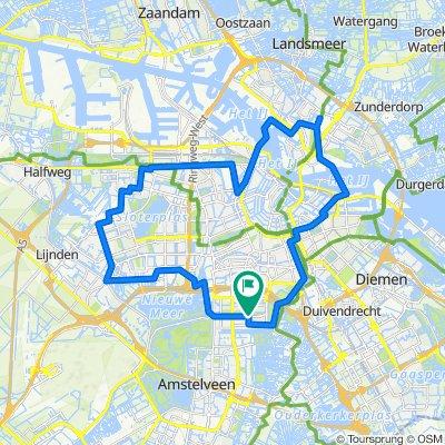 Gli 8 mulini a vento di Amsterdam
