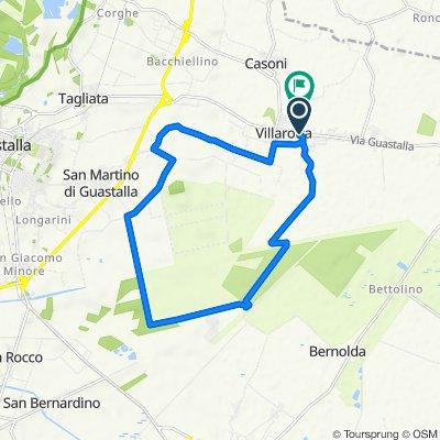 Da Via Lanzoni 3–29, Villarotta a Via Giuseppe Mazzini 21, Villarotta