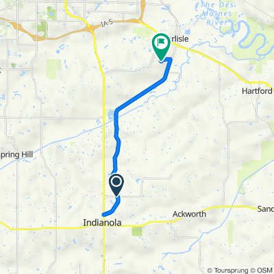 13900–13998 Summerset Trail, Indianola to 1265 Lyle Murphy Dr, Carlisle