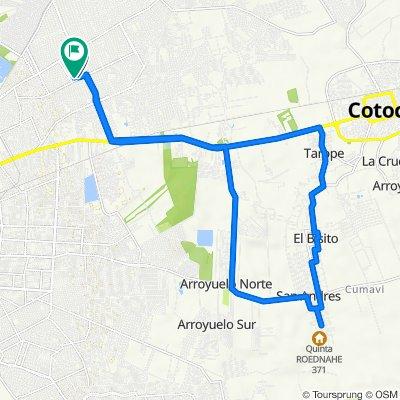 De Unnamed Road, Santa Cruz de la Sierra a Unnamed Road, Santa Cruz de la Sierra