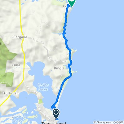 Bingie Dreaming Track (Coila Lake to Congo Point)