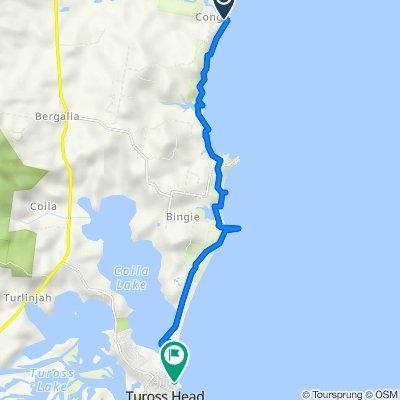 Bingie Dreaming Track (Congo Point to Coila Lake)