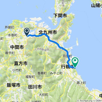 1-38, Sugawaramachi, Yahatanishi, Kitakyushu to 136, Nagai, Yukuhashi