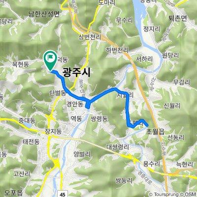 Mokhyeon-dong 7-5, Gwangju-si to Mokhyeon-dong 8, Gwangju-si
