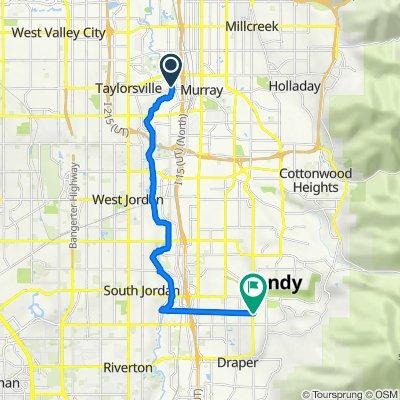 Jordan River Trail, Taylorsville to 1336 E Longdale Dr, Sandy