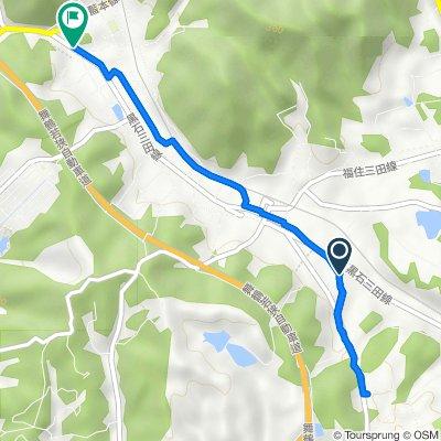 869-4, Shimoaino, Sanda to 389-7, Nishiaino, Sanda