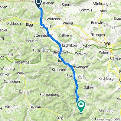 Route von Säntisstrasse 23, Hagenbuch ZH