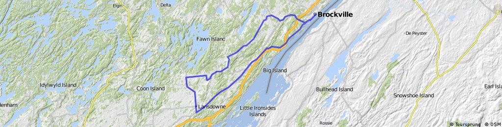 Brockville West 8 - Tour de (butter)Tarts (86km)